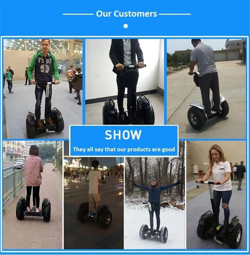 Daibot Off Road Electric Scooter Adults Two Wheels Self Balancing Scooters 2400W 60V Hoverboard Skateboard With APPBluetooth (4)