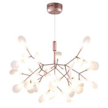 Nórdico moderno colgante para el salón luces creativo ramas Simple personalizado colgante luces Firefly diseñador colgante lámpara