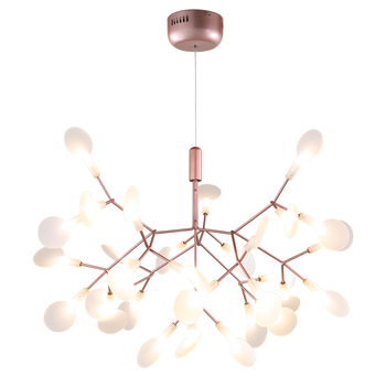 Nordic Modern Living Room Pendant Lights Creative Branches Simple Personalized Hanging Lights Firefly Designer Pendant Lamp modern pendant lights spherical design white aluminum pendant lamp restaurant bar coffee living room led hanging lamp fixture