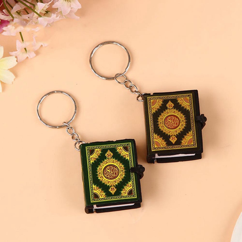 1  PC Mini Ark Quran Book Real Paper Can Read Arabic The Koran 
