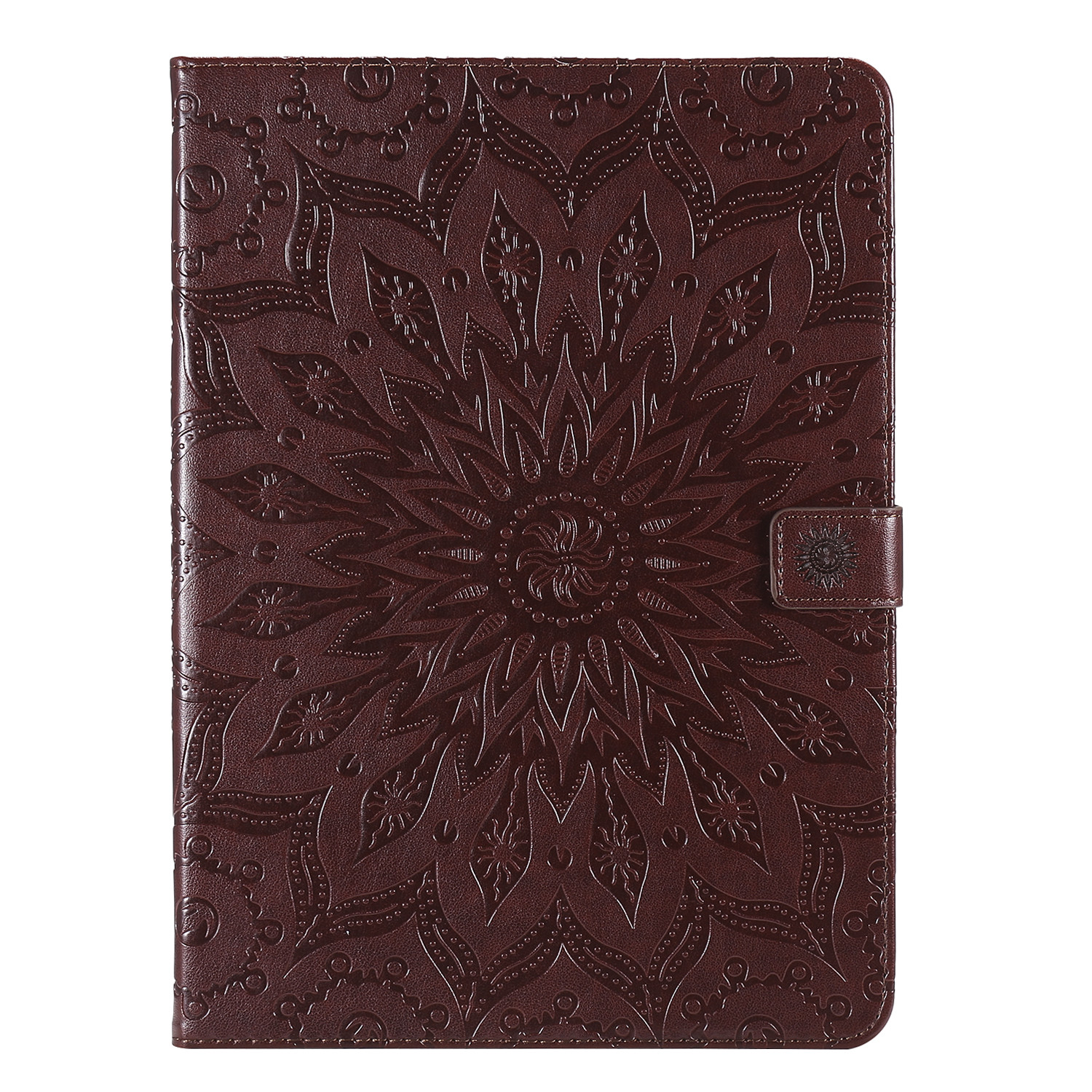 5 Yellow Flower 3D Embossed Cover for iPad Pro 12 9 Case 2020 Leather Protective Shell Skin for