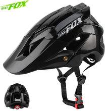 Kask rowerowy BATFOX mężczyźni kobiety kask rowerowy integralnie formowane kaski mtb casco batfox mtb casque velo kaski rowerowe rozmiar M L tanie tanio (Dorośli) kobiety F659-L10 0 4kg 16-20 Formowane integralnie kask mtb helmets casco fox mtb casque velo cycling helmets