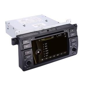 Image 5 - Fabrik Preis 1 Din Auto DVD Player für BMW E46 M3 Mit GPS Bluetooth Radio RDS USB lenkrad Canbus kostenlose Karte + Kamera MIC