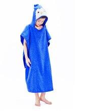 Детский утолщенный купальный халат, полный плюш, Clth Defense, теплый, с ванной, для мальчиков и девочек, пуловер для малышей, modis robe badjas