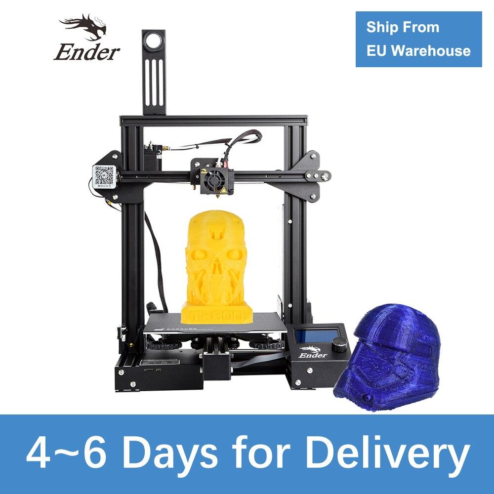 Ender-3 Pro 3D Imprimante Amélioré Magnétique Plaque de Construction Cv Panne De Courant Impression kit de bricolage L'alimentation d'énergie Moyenne