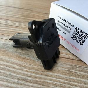 Image 3 - מקורי Mass Air Flow Meter MAF חיישן עבור מאזדה 3 5 6 PROTEGE MX 5 מיאטה ZL01 ZL0113215 ZL01 13 215 197400 2010 1974002010