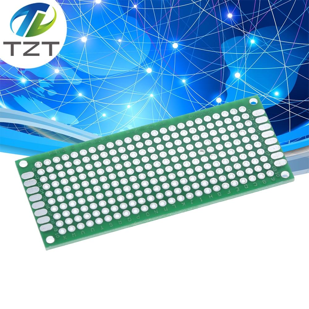 20PCS Double Side Prototype PCB Tinned Universal Breadboard 2x8 cm 20mmx80mm FR4