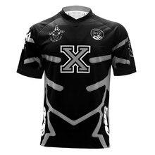 T-Shirt respirant de sport à séchage rapide, pour compétition de vtt DH Pro Motor Cross Country, de vélo de descente