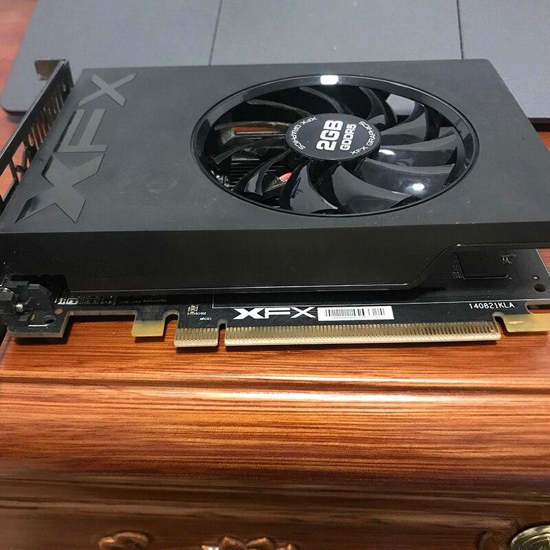 Б/у SAPPHIRE Radeon R7 240 2 Гб видеокарты GPU для AMD Radeon R7 240 GDDR3 128bit видеокарты экран настольный компьютер-3