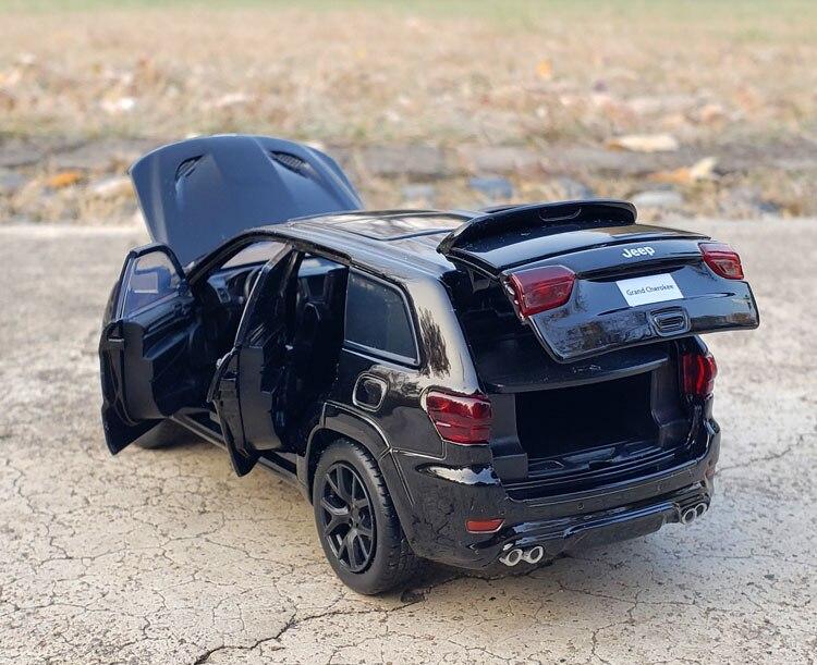 Jkm-carrinho de brinquedo modelo miniatura jeep grand,