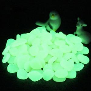 Image 5 - 100/50pc Glow in the Dark Garden Pebbles Glow Stones Rocks for Walkways Garden Path Patio Lawn Garden Yard Decor Luminous Stones