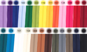 5 метров молния на дворе нейлоновые молнии с 10 шт. молнии слайдер для кошельков, сумок и других швейных изделий