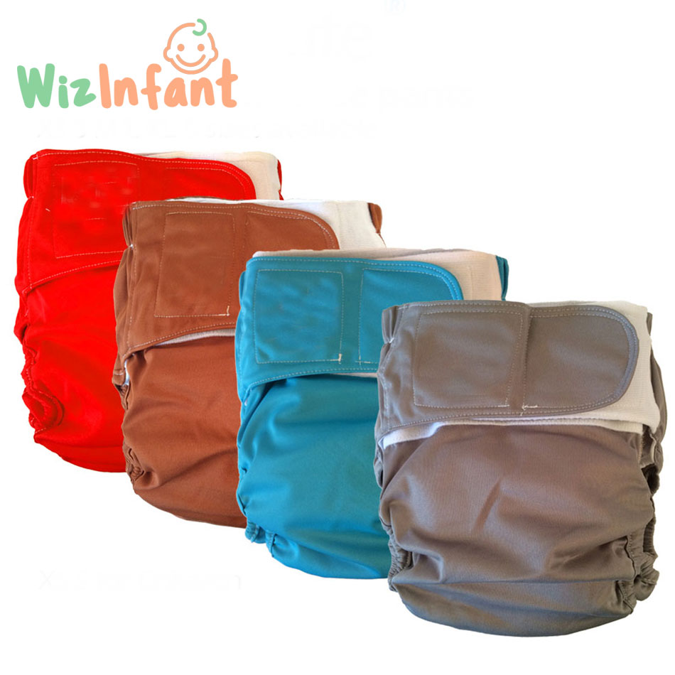 Wizinfant adult cloth diaper, incontinence pants, working with disposable pad,3 sizes available, free shipping