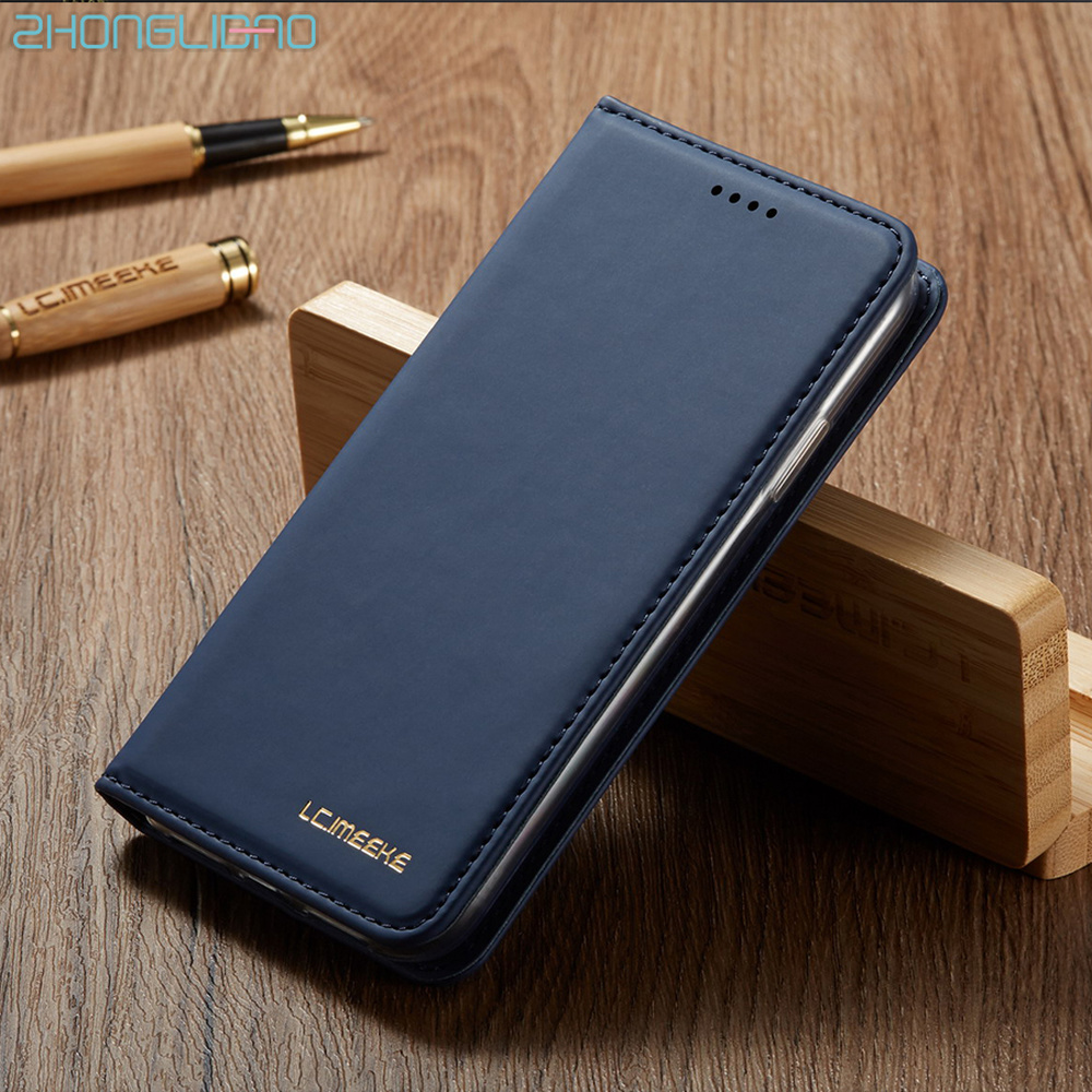 Leather <font><b>Flip</b></font> Wallet Luxury <font><b>Case</b></font> for <font><b>Samsung</b></font> Galaxy A51 A71 A50 A70 <font><b>A20</b></font> <font><b>E</b></font> A30 A10 M10 A40 Card Stand 360 Protection Cover Coque image