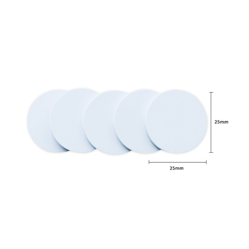 5pcs RFID Nfc Tag Changeable UID 1k Stickers With Block 0 Mutable Writable For S50 Mf1 13.56Mhz Nfc Card Clone Crack Hack