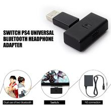 Portátil con micrófono inalámbrico auricular receptor Bluetooth Dongle audio USB transmisor para PS4/Switch/PC Host(China)