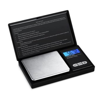 50g 0 001g electronic scales led luminous high precision digital jewelry medicinal herbs scale mini lab weight kitchen scale Weighing scale portable stainless steel mini High-precision digital pocket scale electronic jewelry gold and silver scales