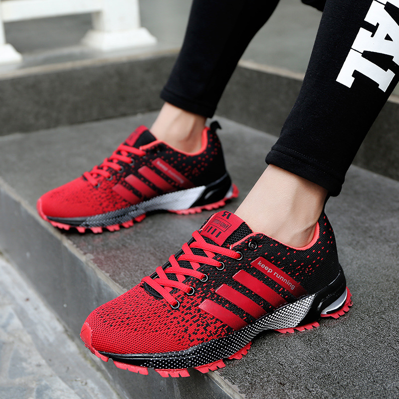 LZJ Women Shoes Fashion Sneakers 2019 Hot Sales Casual Shoes Women Sports Shoes Plus Size Comfortable Mesh Lace-up Female Shoes