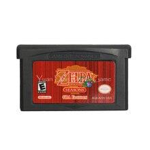 Dla Nintendo GBA gra wideo karta konsoli kasety legenda Zeld Oracle Of Seasons język angielski wersja amerykańska