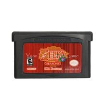 Для Nintendo GBA видеоигры картридж консоль карта легенда о Zeld Oracle Of Seasons английский язык версия США