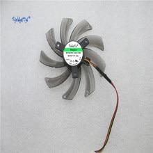 Frete grátis pld10010s12h t129215sm 12 v 0.30a 95mm para gigabyte geforce gtx 660 600 7750 ti placa gráfica ventilador de refrigeração 3pin