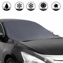Магнитный козырек от солнца на лобовое стекло автомобиля, защитная крышка на лобовое стекло автомобиля, аксессуары для экстерьера автомобиля, новинка, горячая Распродажа