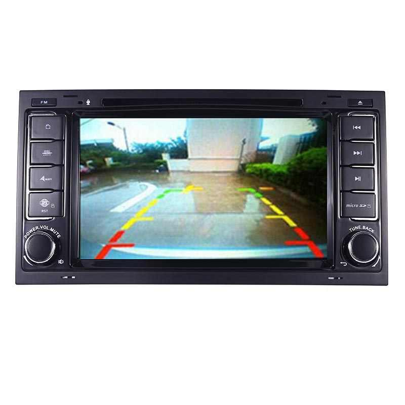 """7 """"HD IPS Android 10.0 GPS Dẫn Đường Cho Xe Volkswagen Touareg Multivan Wifi 3G Bluetooth Đài Phát Thanh Stereo Đa Phương Tiện"""