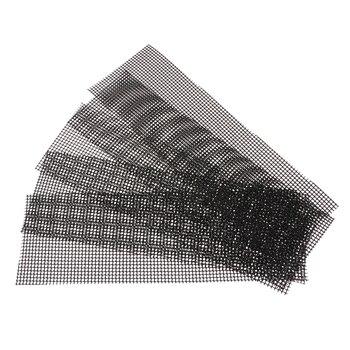 5 X цветочный горшок Нижняя сетка бонсай сетчатый лист пластиковая дренажная сетка 30X10 см