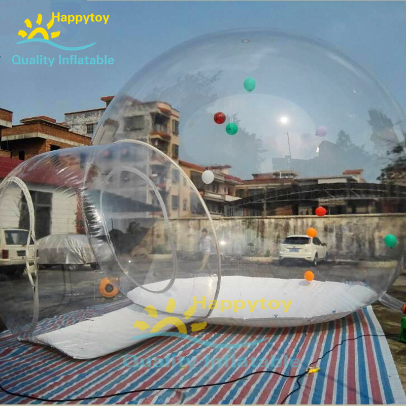 Outdoor Waterproof PVC Inflatable Bubble Hotel Room,transparent Inflatable Bubble Lodge Tent,inflatable Clear Bubble For Hotel