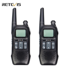 Retevis RT616/RT16 Walkie Talkie 2pcs Emergency Radio PMR446 FRS VOX Family Use Weather Alert Outdoor Portable Two way Radio