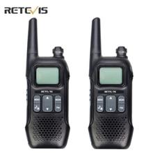 Retevis rt16 walkie talkie 2pcs rádio de emergência frs vox uso da família tempo alerta estação rádio em dois sentidos ao ar livre portátil