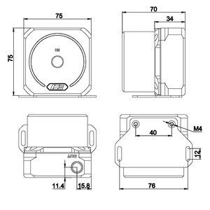 Image 3 - IceMan soğutucu D5 pompası tamir kapak saf bakır pompa modifiye aksesuar parlak gümüş