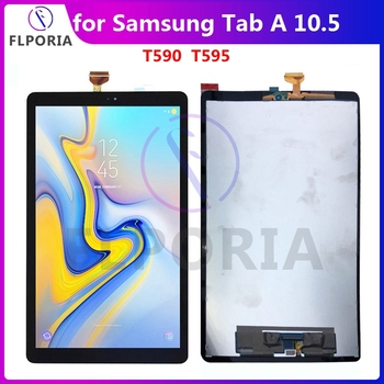 Touch Screen For Samsung Galaxy Tab A 10.5 T590 T595 LCD Screen SM-T590 SM-T595 Touch Glass Digitizer Tablet Replacement Tested