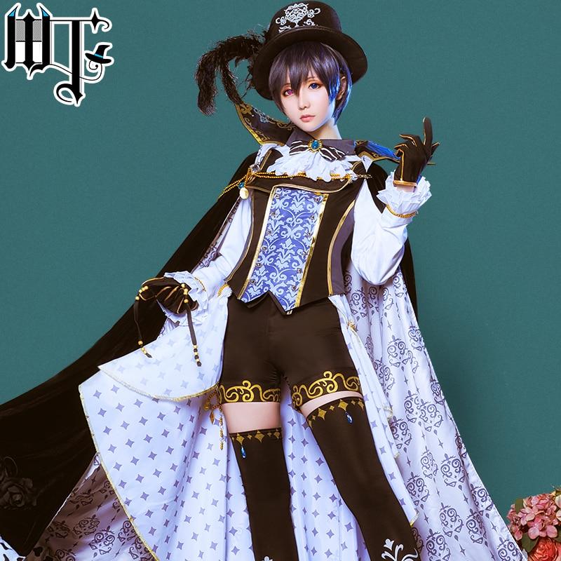 Black Butler Ciel Phantomhive Dream 100 sun rise moo rise sin awakening cosplay costume New Cloth Free Shipping