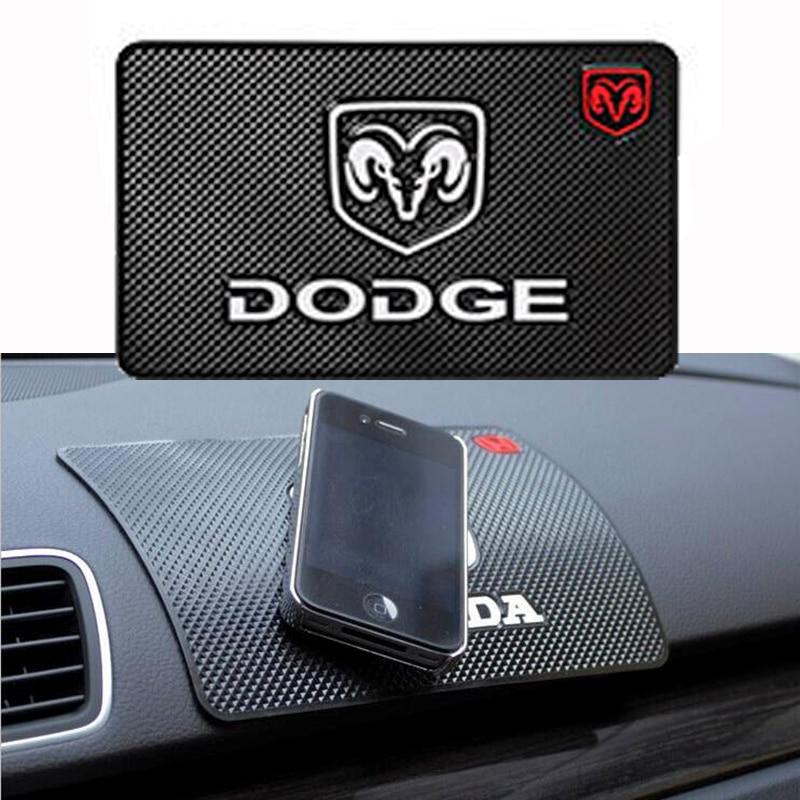 Car Anti-Slip Dashboard Sticky Pad Non-slip Mat phone For Jeep Dodge Challenger Ram 1500 2500 3500 Caliber Dart Nitro Accessorie