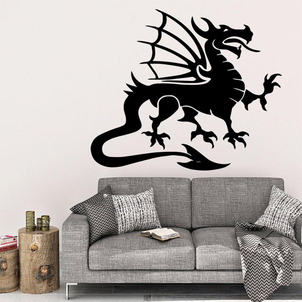 Bricolage Dragon Décoration De La Maison Accessoires Pour Bébé Enfants Chambres Décor Autocollant Mural