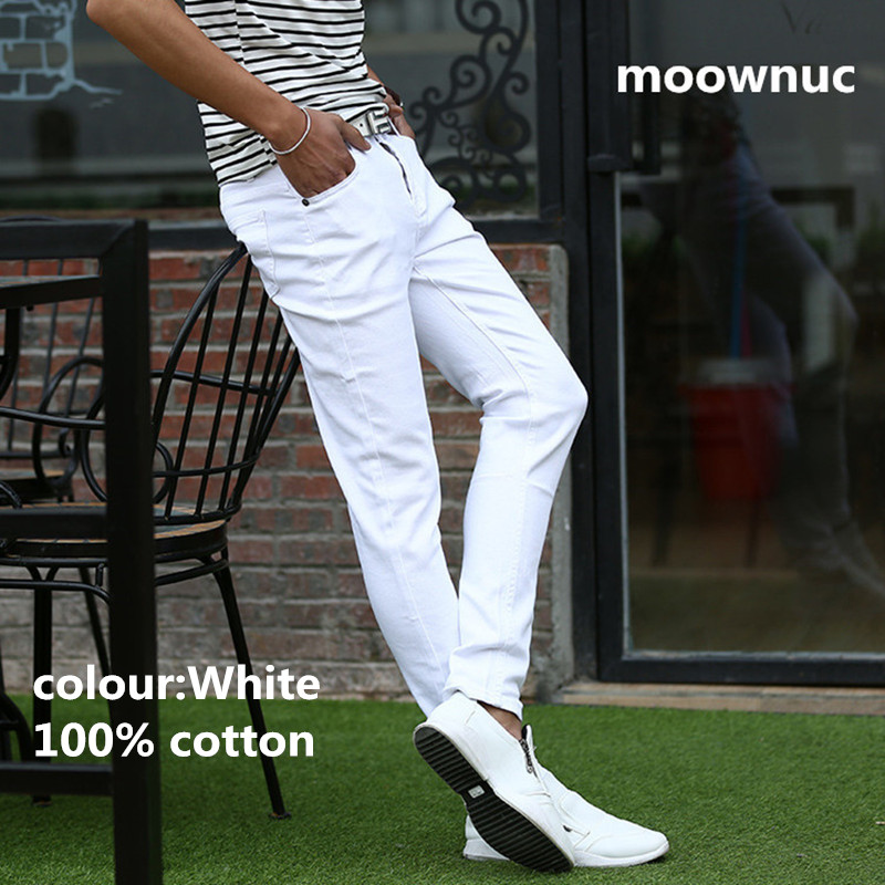 2020 New Arrival Spring High Quality Slim Fit Trousers Elastic Men Jeans Casual Fashion Classic Denim Skinny Jeans Size 28-36