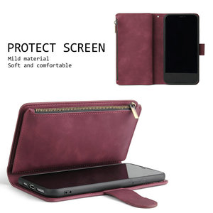 Image 5 - Multifunction Zipper Case for Coque Samsung Galaxy A21S A31 A51 A71 A50 A70 A40 A10 A41 A21 S A11 A01 A 71 51 A 31 21 Flip Cover