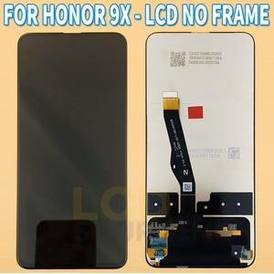Image 3 - Huawei社 1080pスマートz STK LX1 液晶タッチスクリーンデジタイザアセンブリのための名誉 9x液晶交換HLK AL00 ためY9 プライム 2019
