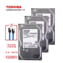 Toshiba HD 500GB komputer stacjonarny HDD 3 5 #8222 wewnętrzny mechaniczny dysk twardy SATA3 6 Gb s dysk twardy 1TB 2TB 4TB bufor tanie tanio Interfejs SATA 3 0 CN (pochodzenie) 500 gb NONE 240G 12 0 ms 5400 rpm T-00 Pulpit 32MB 1 pc 500GB 1TB 2TB 4TB 5400RPM
