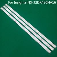 Iluminación LED TV para insignias NS-32DR420NA16 barra LED de 32 pulgadas tira de luz de fondo de línea GJ-2K15 D2P5 D307-V1 V1.1 TPT315B5