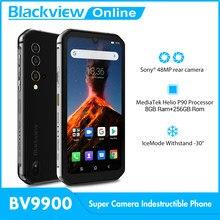 Blackview BV9900 Helio P90 Octa Core 8GB 256GB 5.84'' FHD+ IP68 Waterproof Rugged Smartphone 48MP Quad Camera 4G Mobile Phone