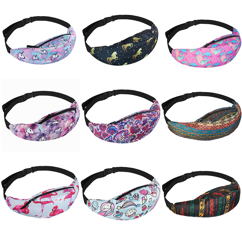 Waist Packs Women Colorful Bag Waterproof Travel Fanny Pack Belt Female Chest Mobile Phone Holder Sac Banane#yl,I