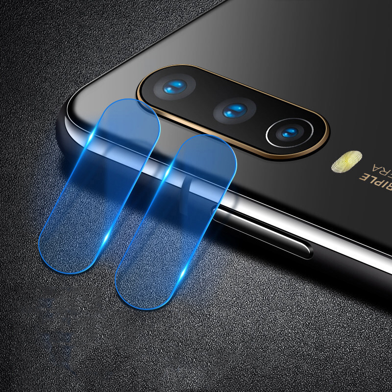 2PCS/lot Clear Lens Tempered Glass For Vivo Y11 Y12 Y17 Y15 U10 U3X Full Glued Cover Back Camera Glass Lens Protector Flat Film