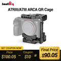 SmallRig Quick Release DSLR камера клетка с Arca Стиль Quick Plate Половина Клетка для sony A7R III/A7 III/A7 II/A7R II/A7S II 2238
