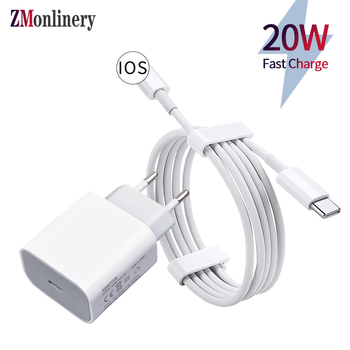 usb c cable quick charger for iphone 12 11 pro max xs xr x 8