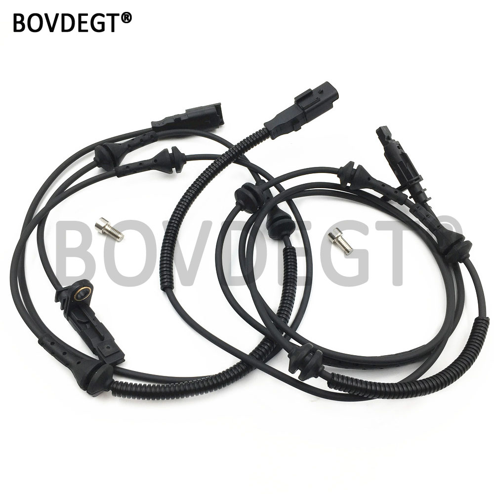 Front/Rear Left And Right 2pcs ABS Wheel Speed Sensor For CITROEN C6 PEUGEOT 407 6D SW Coupe Etc. 4545A9 4545G7