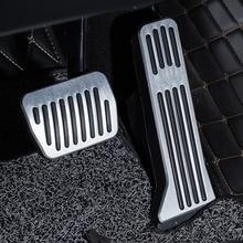 купить For  Mazda ATENZA car pedal gas foot rest stainless modified pad non slip performance aluminium fuel по цене 578.77 рублей