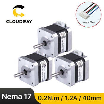 цена на Nema17 Stepper Motor 42mm 2 Phase 20Ncm 1.2A Stepper Motor with DuPont 4-lead Cable for 3D printer CNC XYZ