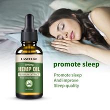 Lanthome 30ml 5000mg Hemp CBD Organic Essential Oil Hemp Seed Oil Herbal Drops Body Relieve Stress Oil Skin Care Help Sleep